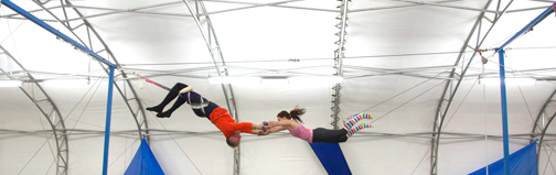 SANCA flying trapeze catch