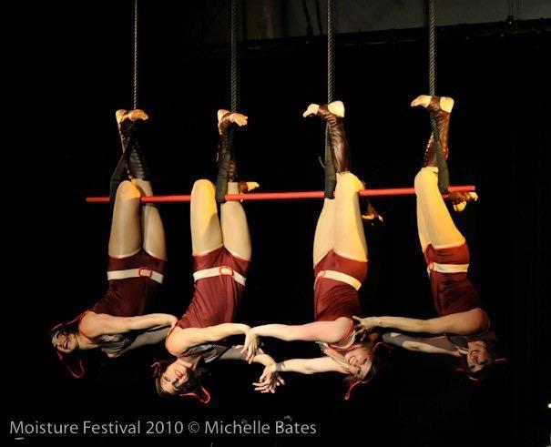 The Aviatrix at Moisture Festival. Photo by Michelle Bates