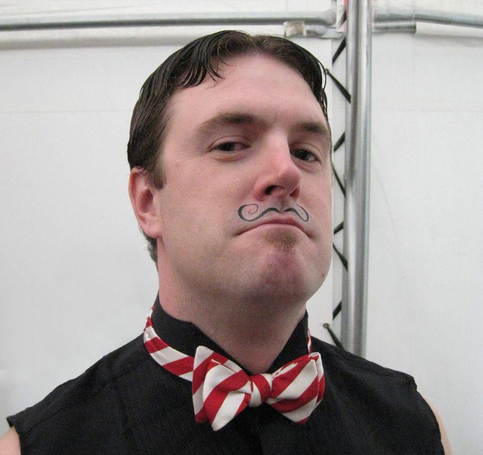 CJ moustache